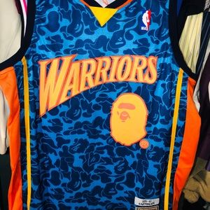 GS Warriors BAPE Jersey